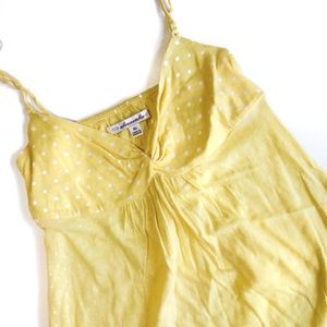 Abercrombie Yellow Babydoll Cami